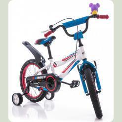 "Велосипед Azimut Fiber 18 ""Синьо-білий"