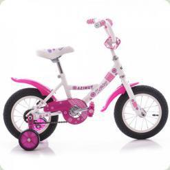 """Велосипед Azimut Kathy 12 """"Білий"""