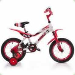 """Велосипед Azimut KSR 16"""" Червоно-білий"""