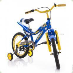 """Велосипед Azimut KSR 20"""" Жовто-синій"""