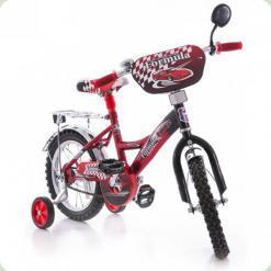 """Велосипед Azimut Mustang 14"""" Феррарі Червоний"""
