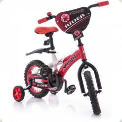 """Велосипед Azimut Rider 12 """"Червоно-білий"""