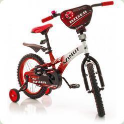 """Велосипед Azimut Rider 16 """"Червоно-білий"""