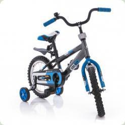 "Велосипед Azimut Stitch 18 ""Чорно-синій"