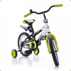 """Велосипед Azimut Stitch 18 """"Зелено-біло-чорний"""