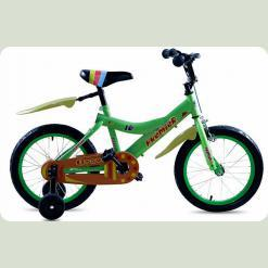 "Велосипед дитячий Premier Bravo 16 ""Lime"