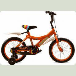 """Велосипед дитячий Premier Bravo 16 """"Orange"""