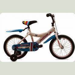 """Велосипед дитячий Premier Bravo 16 """"White"""