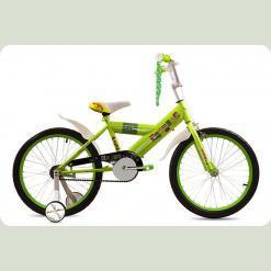 """Велосипед дитячий Premier Enjoy 20 """"Lime"""