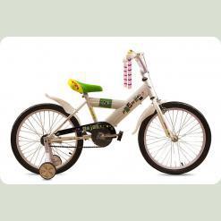 "Велосипед дитячий Premier Enjoy 20 ""white"