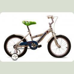 """Велосипед дитячий Premier Flash 16 """"White"""