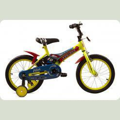 "Велосипед дитячий Premier Pilot 16 ""Yellow"