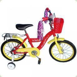 """Велосипед Lexus Bike 120030 16 """"Червоно-жовтий"""