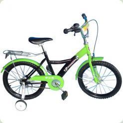 """Велосипед Lexus Bike 200091 18 """"Чорно-зелений"""