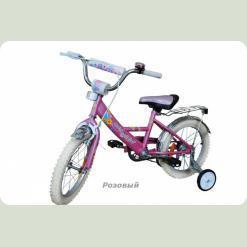 """Велосипед Марс 18"""" р.гальмо+ексцентрик (рожевий)"""