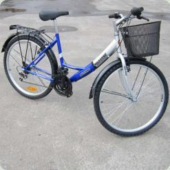 """Велосипед Mustang Safire 24 """"Синій + Збірка"""