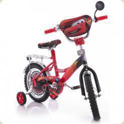 """Велосипед Mustang Тачки 12"""" Червоно-чорний"""