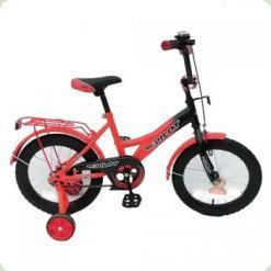 """Велосипед Pilot 16 """"PL1636 Червоно-чорний"""