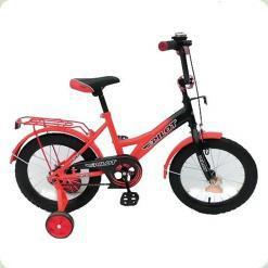 """Велосипед Pilot 18 """"PL1836 Червоно-чорний"""