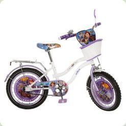 """Велосипед Profi 20"""" Біло-фіолетовий (SF208B)"""