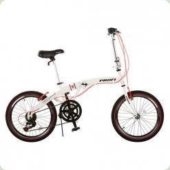 """Велосипед Profi 20F-2 20"""" Білий"""