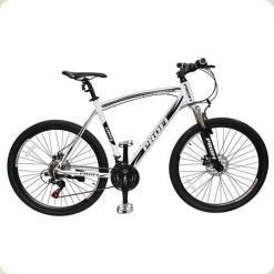 "Велосипед Profi Expert 24.3 24 ""Чорно-білий"
