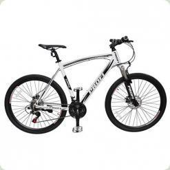 "Велосипед Profi Expert 26.3XL 26 ""Чорно-білий"