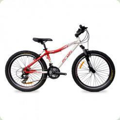 """Велосипед Profi Liners XM241B 24 """"Червоно-білий"""