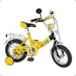 """Велосипед Profi Trike 12 """"P 1237 Жовто-чорний"""