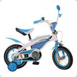 """Велосипед Profi Trike 12BX405-1 12"""" Біло-блакитний"""