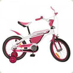 """Велосипед Profi Trike 16BX405-2 16"""" Біло-рожевий"""