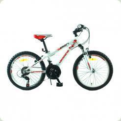 """Велосипед Profi Trike G20A315-L1 UKR-2 20"""" Біло-червоний"""