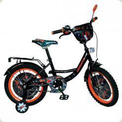 """Велосипед Profi Trike GR 0004 18"""" Чорно-помаранчевий"""