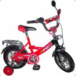 """Велосипед Profi Trike P1246 12 """"Червоно-чорний"""