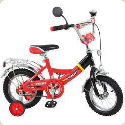 """Велосипед Profi Trike P1246A 12"""" Червоно-чорний"""