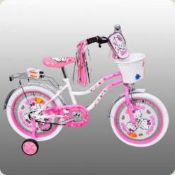 """Велосипед Profi Trike P1263H-W 12 """"Хелло Кітті"""