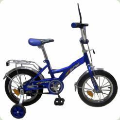 """Велосипед Profi Trike P1433 14 """"Синій"""