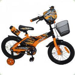 "Велосипед Rueda Racer 12"" Помаранчевий"