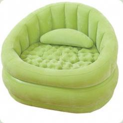 Велюр крісло Intex 68563 Салатовий