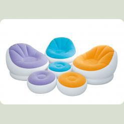 Велюр крісло Intex 68572 Violet