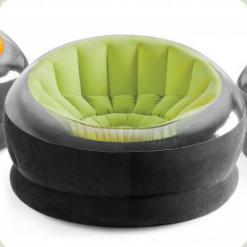 Велюр крісло Intex 68582 Зелений