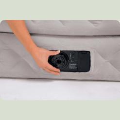 Велюр ліжко Intex 66962 з вбудованим насосом 220В