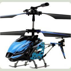 Вертоліт 3-к мікро і/ч WL Toys S929 з автопілотом (синій)