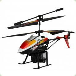 Вертоліт 3-к мікро і/ч WL Toys V319 SPRAY водяна гармата (помаранчевий)