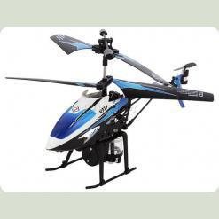 Вертоліт 3-к мікро і/ч WL Toys V319 SPRAY водяна гармата (синій)