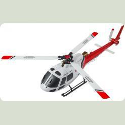 Вертоліт 3D мікро 2.4GHz WL Toys V931 FBL безколекторний (червоний)