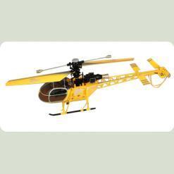 Вертоліт 4-к великий р/к 2.4GHz WL Toys V915 Lama (жовтий)