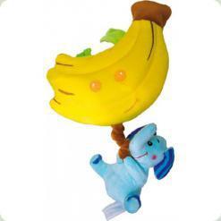 Вібрірущая музична іграшка Biba Toys Щасливий слоненя (658BM)