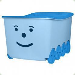 Ящик для іграшок Tega Play 52L BQ-005 (light blue-blue)
