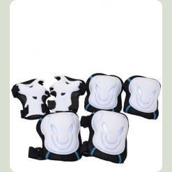 Захист для роликів Bambi MS 0340 розмір L Білий з чорним